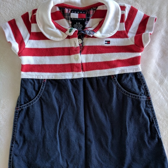 537274d9 ... Tommy Hilfiger Baby-Girls Newborn Small Heart Printed Footed Sleeper ·  Tommy ...